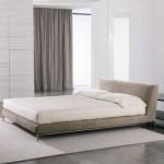 Tenda con binario per camera da letto