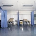 Divisione ambienti - centro fisioterapia