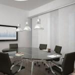 Tenda a pannelli per sala riunioni