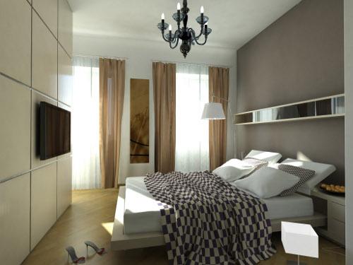 tenda con bastone decorativo per camera da letto tenda con bastone ...